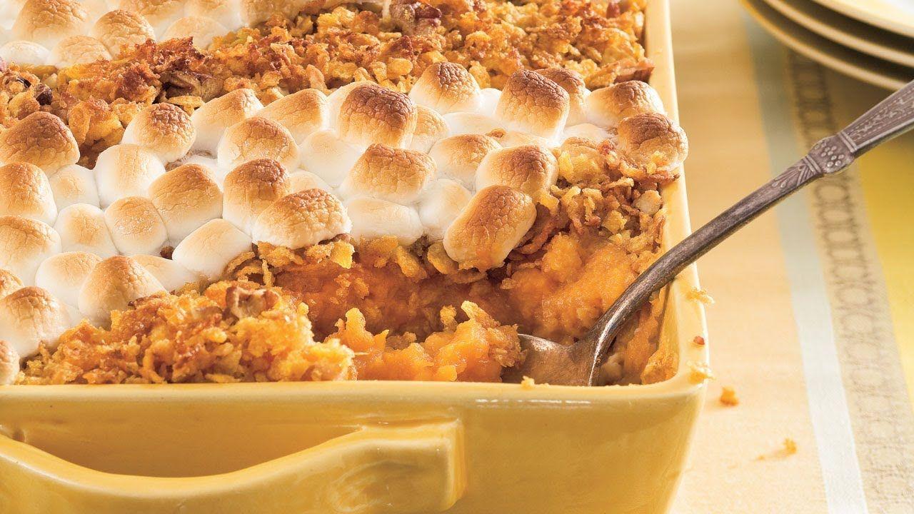 recipe: sweet potato casserole paula deen marshmallow [2]