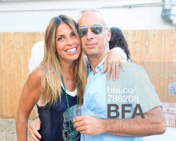 Claudia Saez Fromm Mark David Fromm At Book Signing For Maria Brito S Out There Hosted By Missoni Home Bfanyc Book Signing Missoni Home The Hamptons