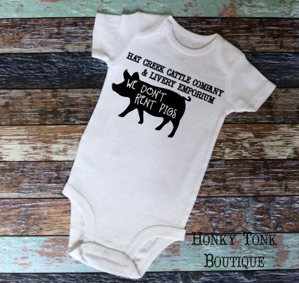 Lonesome Dove Baby Clothing Country Baby Country Western Hat Creek Cattle Company Country Baby Boy Clothes Country Baby Stuff Country Baby Clothes Country