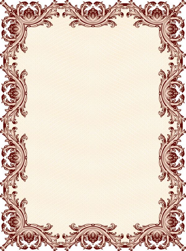 Border Designs Clip Art | ... pattern border 01 vector2 Classic ...