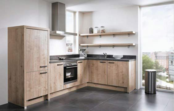 hoekkeuken. kies voor warm doorleefd hout. | db keukens | wood