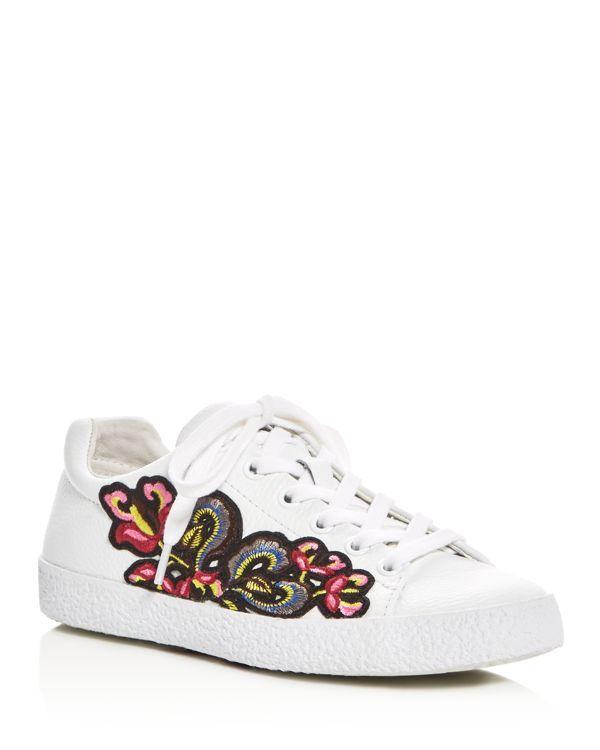 bd2da6219589 Ash Nak Applique Embellished Lace Up Sneakers