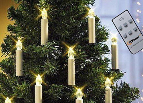 Top Race Battery Ed Led Christmas Tree Taper Candles With Remote Control Enjoy The Ambiance Of Operated Candle Light On Your Holiday And