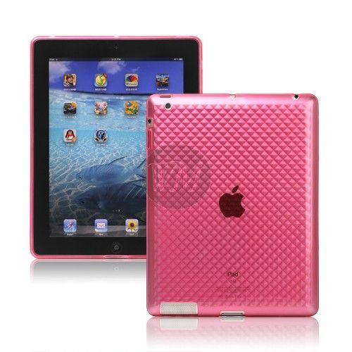 Husa Silicon Diamond iPad Pink