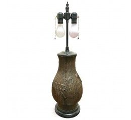Photo of Bamboo urn lamp