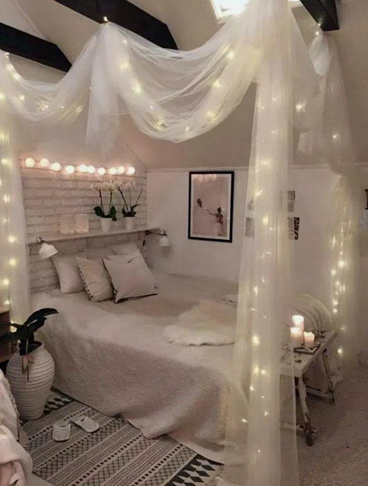 39+ Kreative DIY Dekor Ideen für Schlafzimmer #bedroomideas #bedroomdecor #bedroomdes … - Diy...