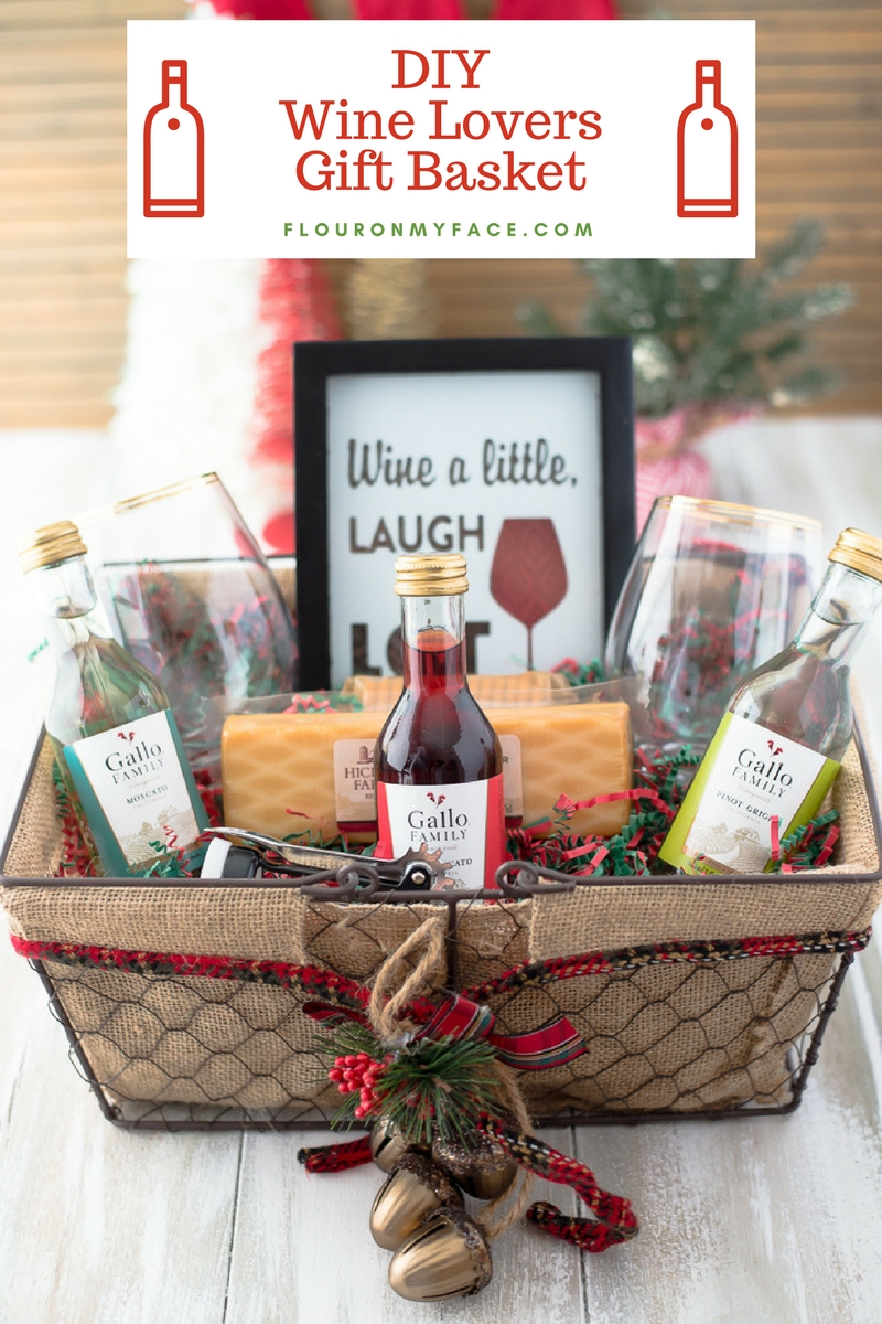 Diy Wine Gift Basket Ideas Recipe Diy Wine Gift Baskets Wine