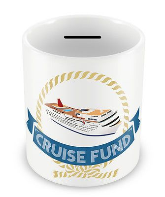 Cruise fund #money box - piggy bank gift idea holiday #coins pot #savings jar #72,  View more on the LINK: 	http://www.zeppy.io/product/gb/2/221552379629/