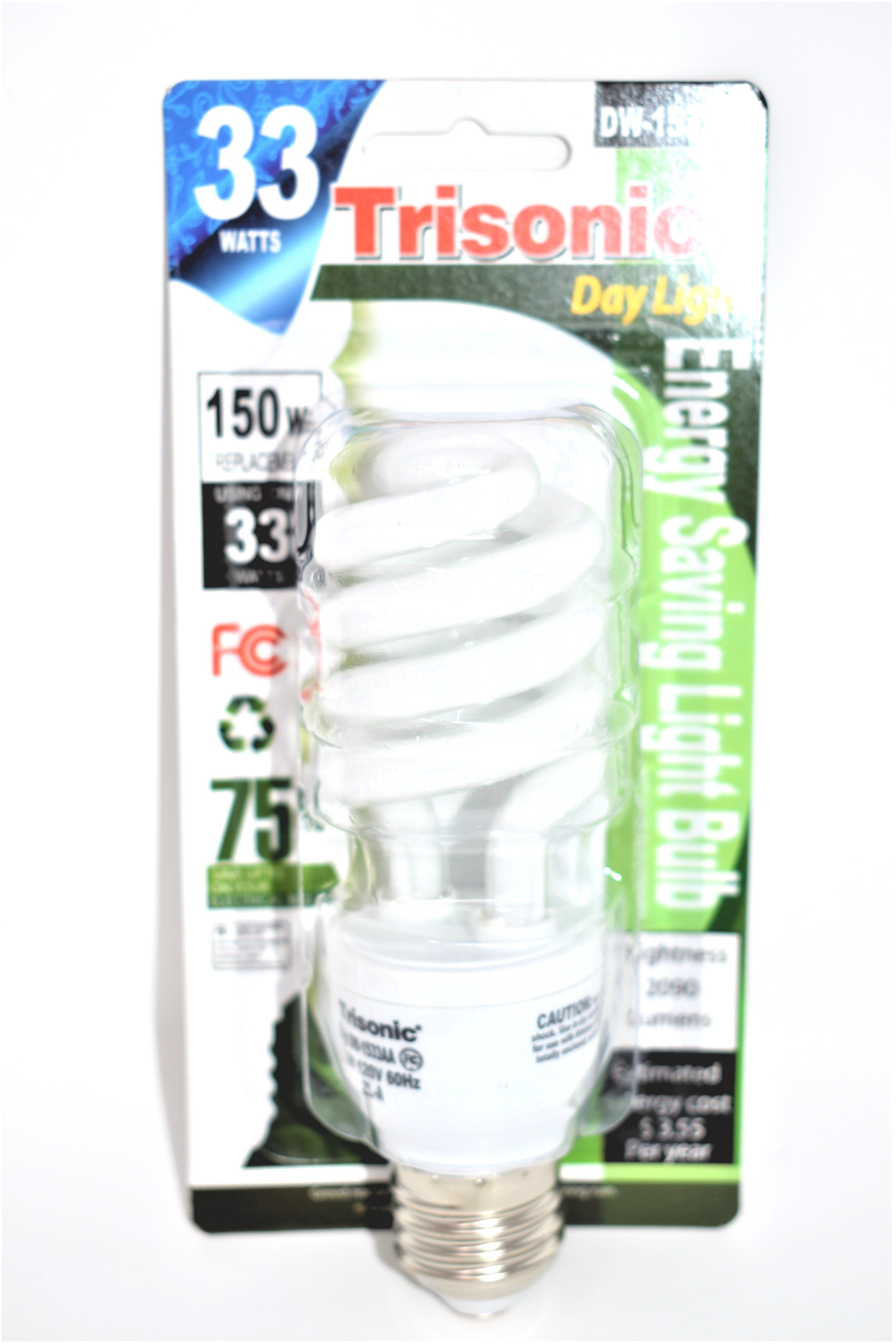 33 Watts 150 Watts Equivalent Energy Saving Light Bulb Save Energy Light Bulb Bulb