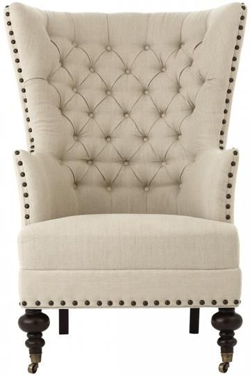Remmy Club Chair   Armchairs   Accent Chairs   Upholstered Chairs   Tufted  Chairs | HomeDecorators