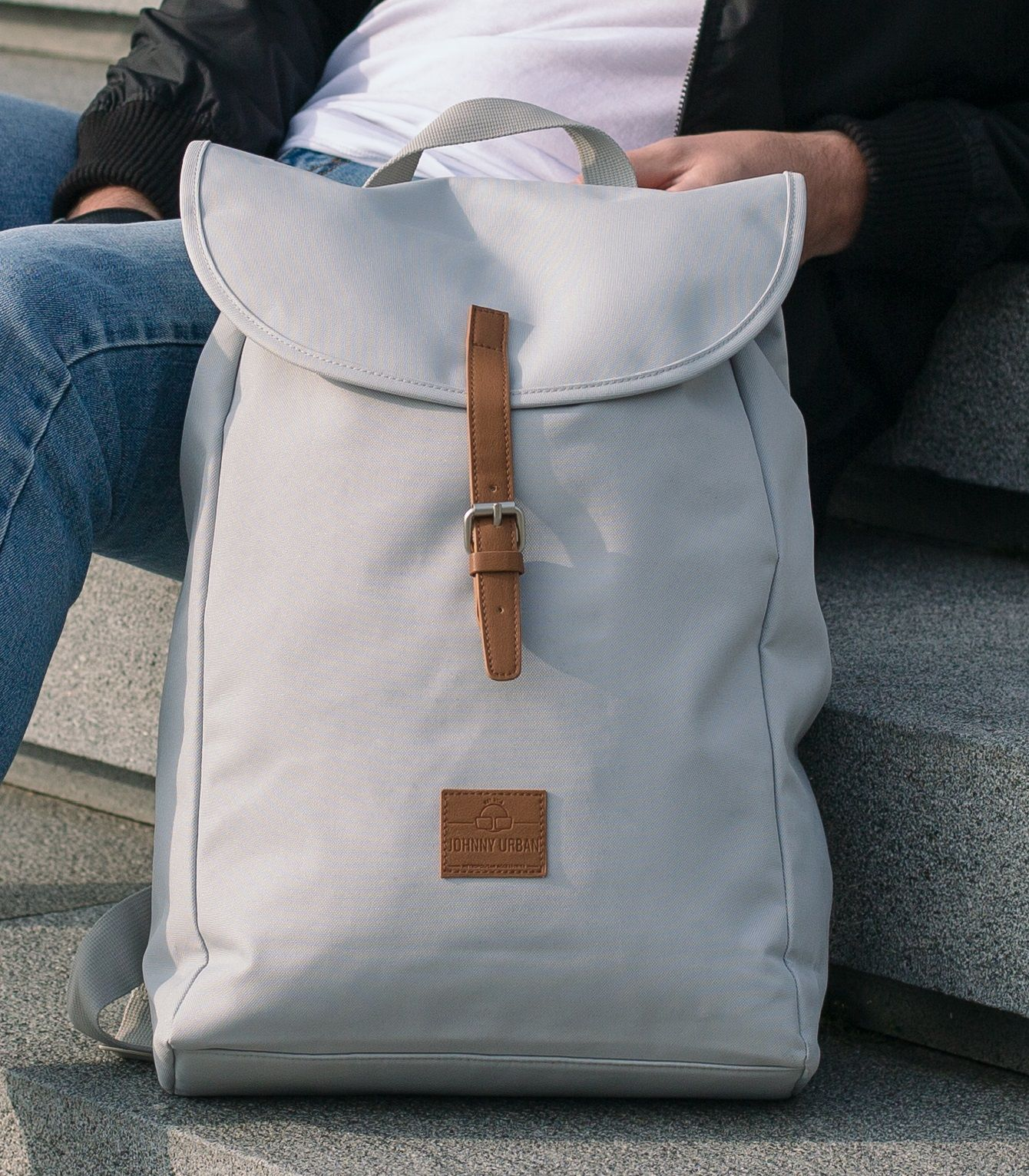 Casual Grey Backpack For Women & Men Perfect Companion For