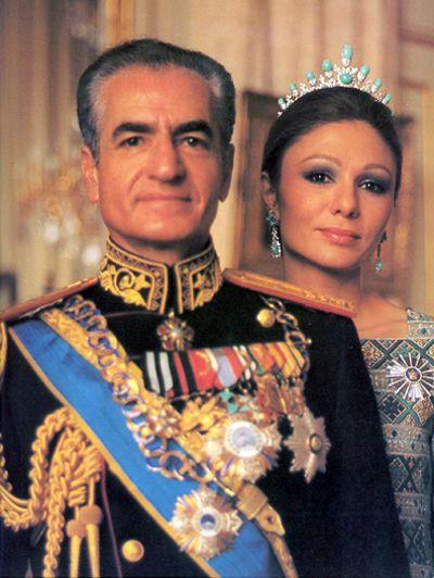 Iran Politics Club: Mohammad Reza Shah & Shahbanu Farah Pahlavi ...