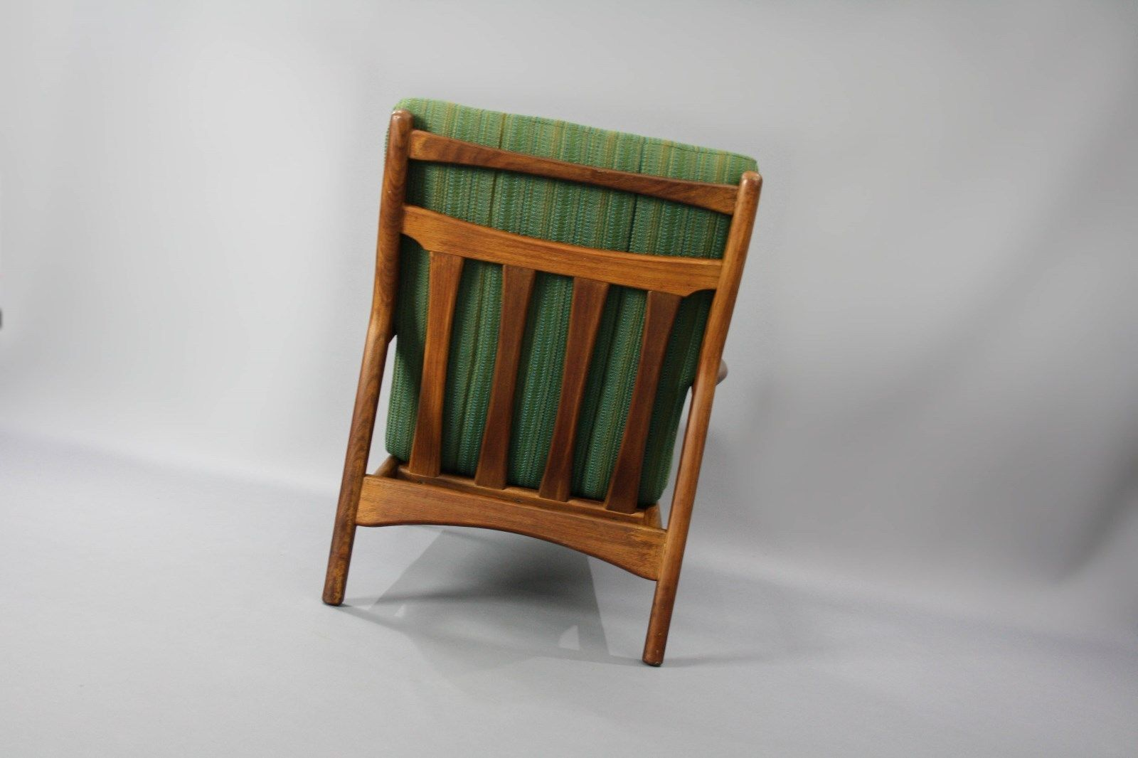 Mid Century Toothill Heals Uk Original Teak Armchair Retro Vintage