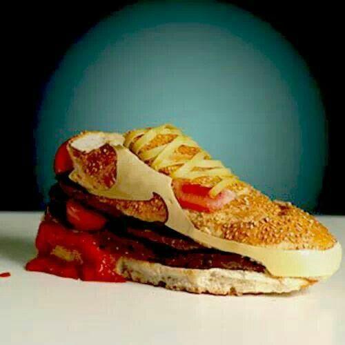 Burger shoe
