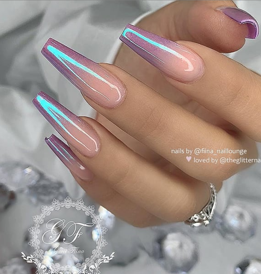 53 Chic Natural Gel Nails Design Ideas For Coffin Nails Page 37 Of 53 Coffin Nails Designs Natural Gel Nails Coffin Nails Long
