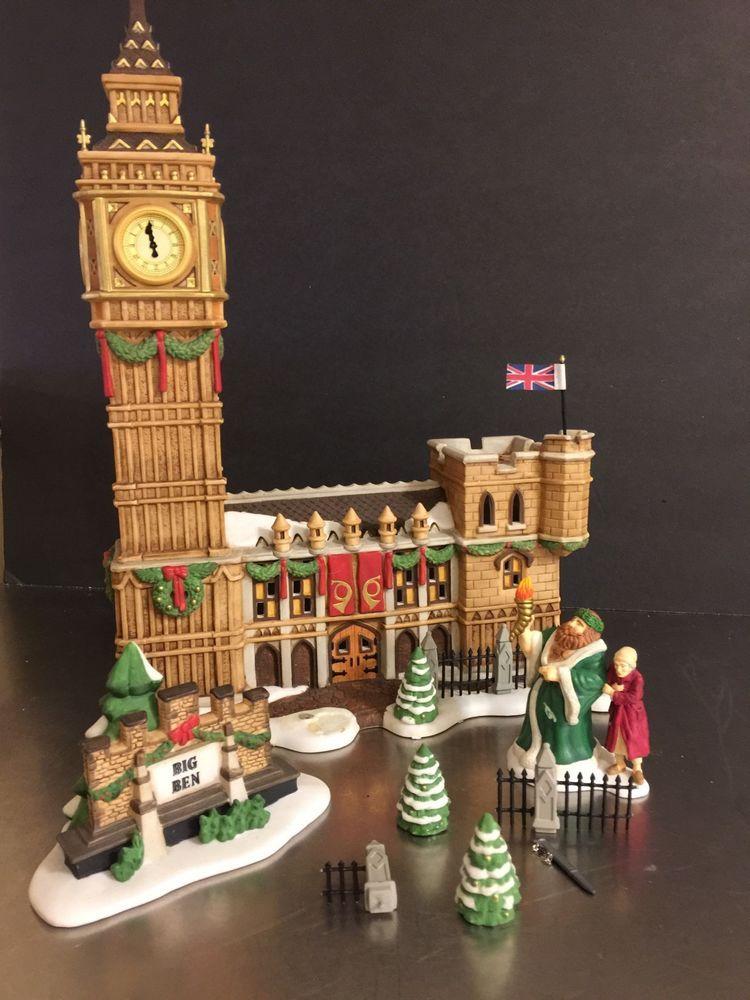 Dept 56 Big Ben Historical Landmark London Dickens Village Original Box Figures   | eBay
