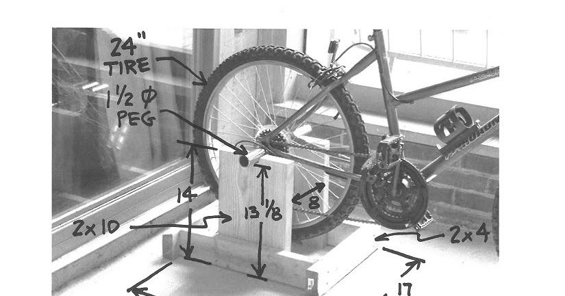 Ready To Roll Diy Ideas For Making Your Own Bike Stand Bike