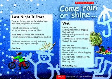 scholosatic, weather poems | Poetry | Pinterest | Student-centered ...