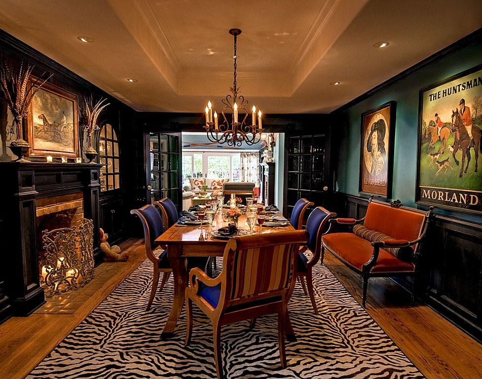 Eclectic Dining Room - Found on Zillow Digs