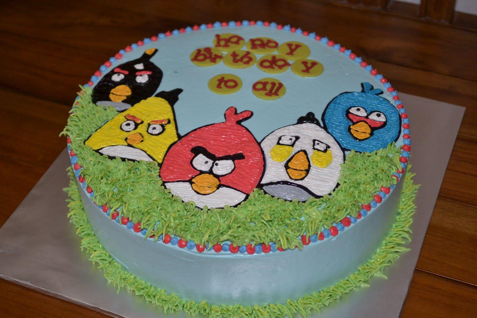 angry bird cakes MyPu3 Cake House Angry Birds cake Angry Birds