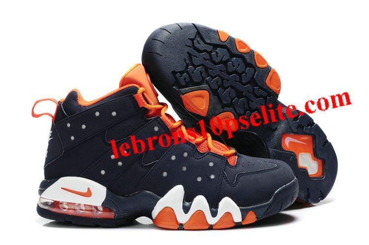 Get Best Sneakers. Charles Barkley Shoes - Nike Air Max2 CB 94 Dark  Blue Orange 9c10a1500