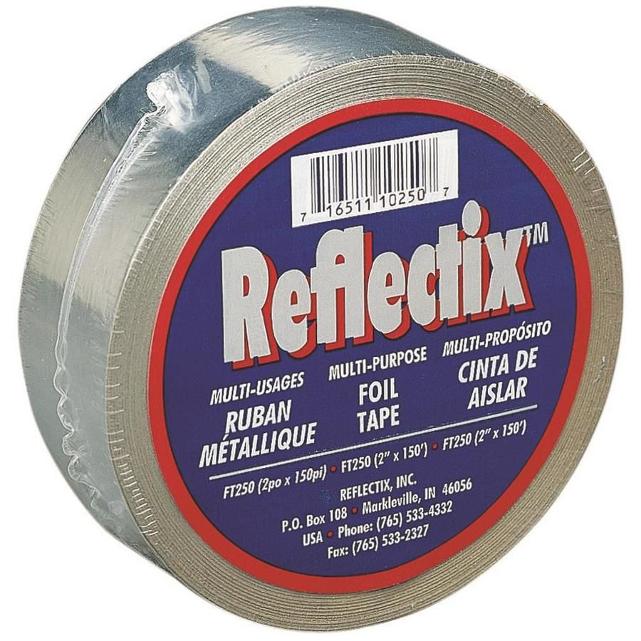 Reflectix 2 In X 30 Ft Reflective Insulation Tape Reflective Insulation Foil Tape Tape