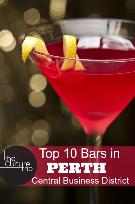 The 10 Best Bars In Perth S Central Business District Cocktails