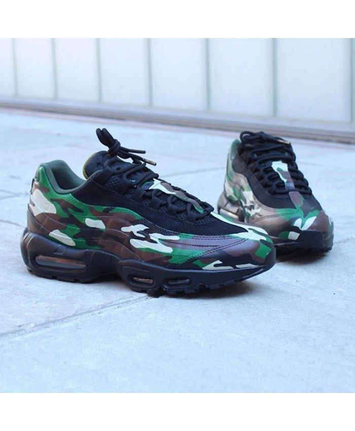 another chance 71153 9255f Mens Nike Air Max 95 Camo Black Trainer Men and women will have, wear very  comfortable.