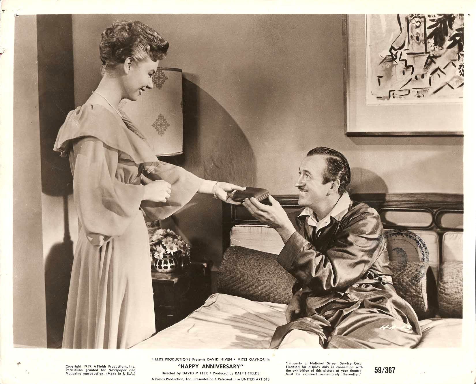 Classic Old Movie : Happy Anniversary 1959