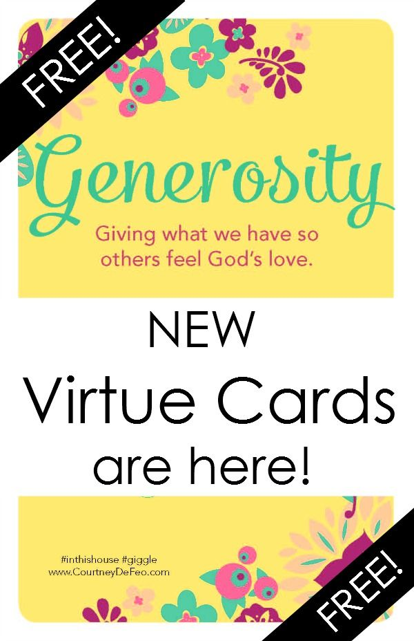 NEW ABC Scripture Cards are here For Free! Virtue Cards by Lil - free printable religious easter cards