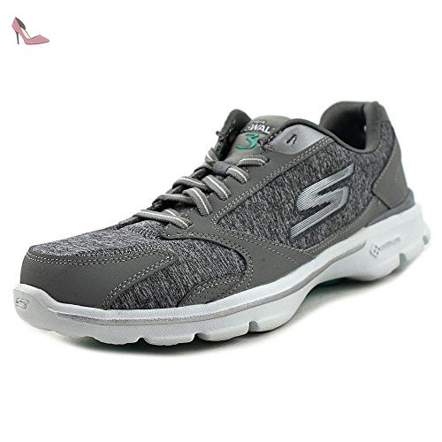 Skechers Go Walk 3-Statement Femmes US 5.5 Gris Chaussure de Marche -  Chaussures skechers