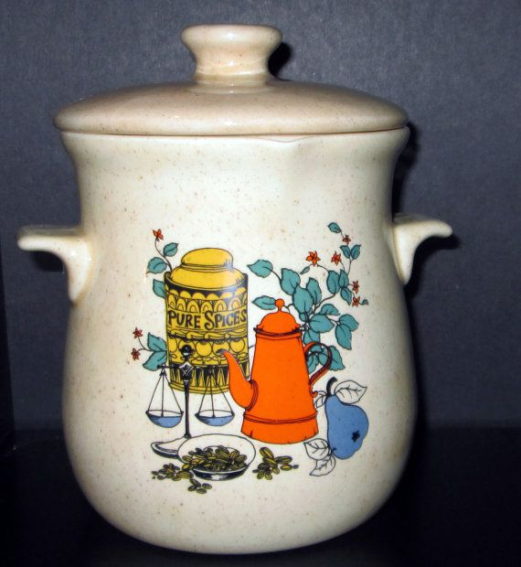 Vintage Grease Drippings Strainer Jar With Lid By