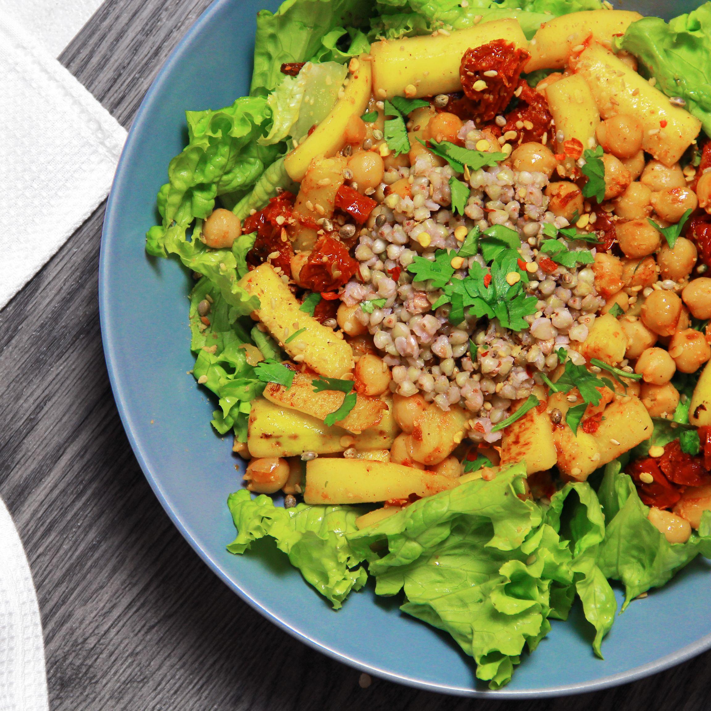 Nouvelle Recette De Buddha Bowl Vegetarien Un Repas Facile Et