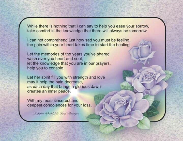 Thank you letter for loss of family member image collections condolences prayer loving memories pinterest condolences condolences prayer expocarfo expocarfo