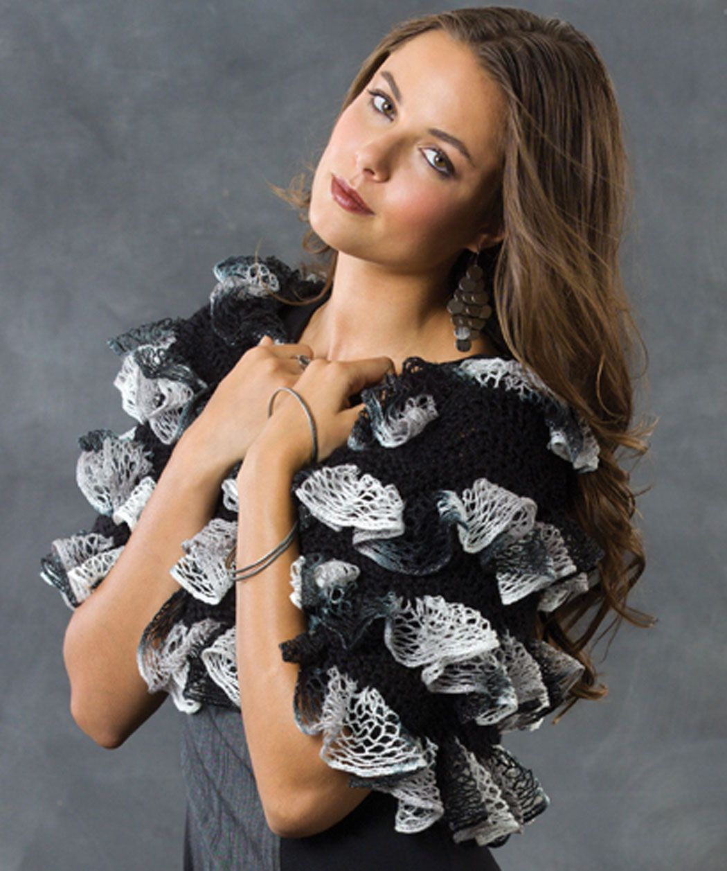 Ruffle Ripple Shoulder Cozy - Uses Soft Touch and Boutique Sashay ...