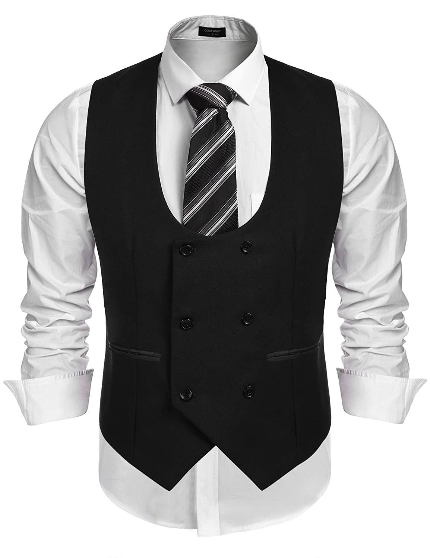 1920s Style Men S Vests Pullover Vests Waistcoats Business Suit Vest Suit Vest Slim Fit Men [ 1500 x 1154 Pixel ]