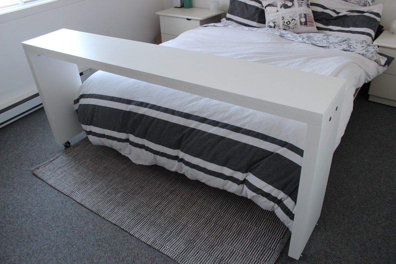 Comment Fabriquer Une Table De Lit Table D Appoint Ep19 Table De Lit Ikea