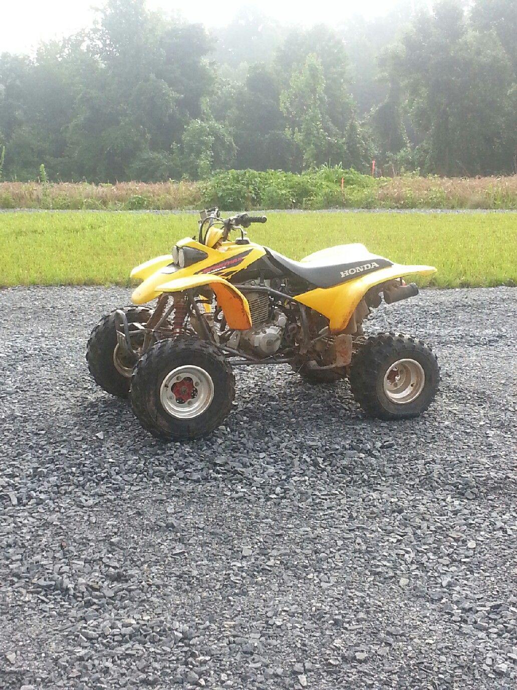 My 2002 Honda TRX400EX Sportrax