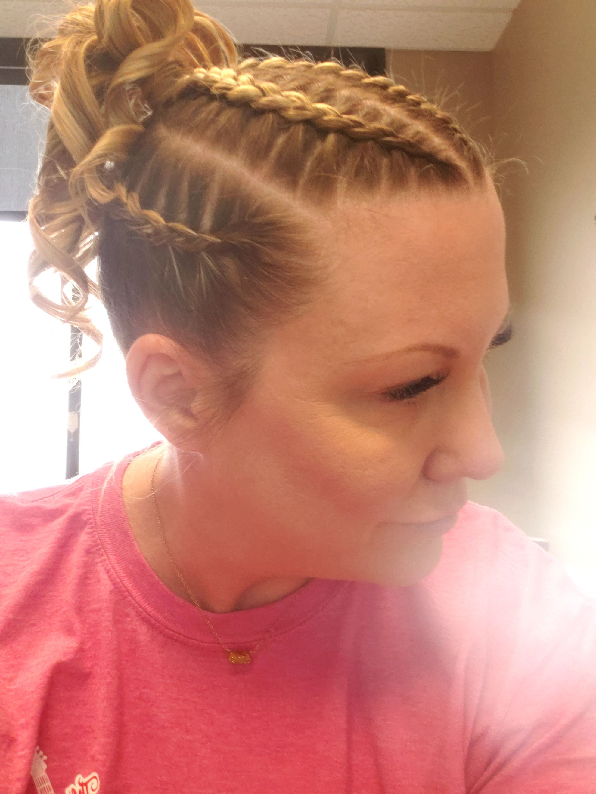 Boxer Braids Thin Hair Curly Ponytail In 2020 Braids For Thin Hair Hairstyles For Thin Hair Curly Hair Styles