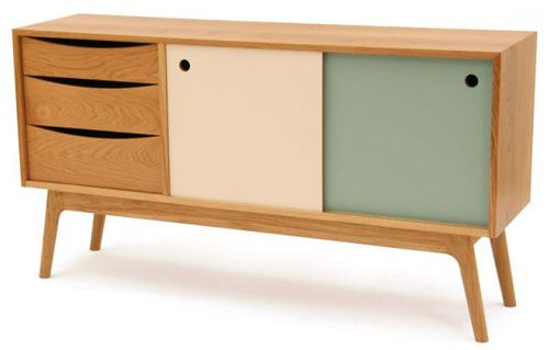 Awesome A Distinctly Retro Cabinet In European Oak And Formica, Guide Price