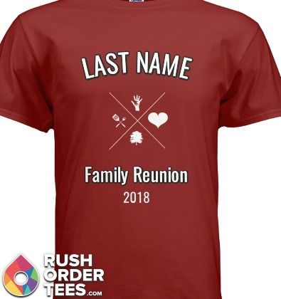 Family Reunion Custom T-Shirt Design Ideas! #familyreunion #custom ...