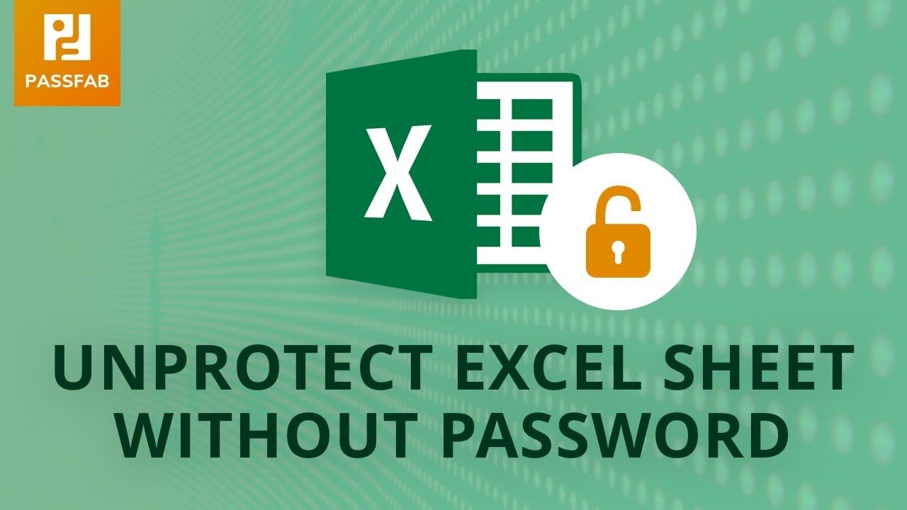 How to unprotect excel worksheet without password in 2020