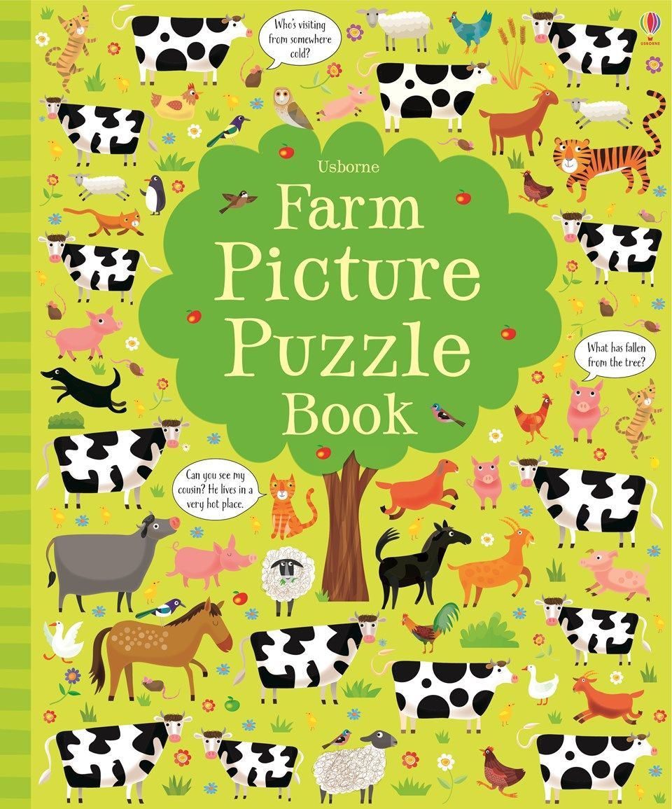 "Find out more about ""Farm picture puzzle book"", write a review or ..."