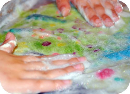 wet picture felting how to