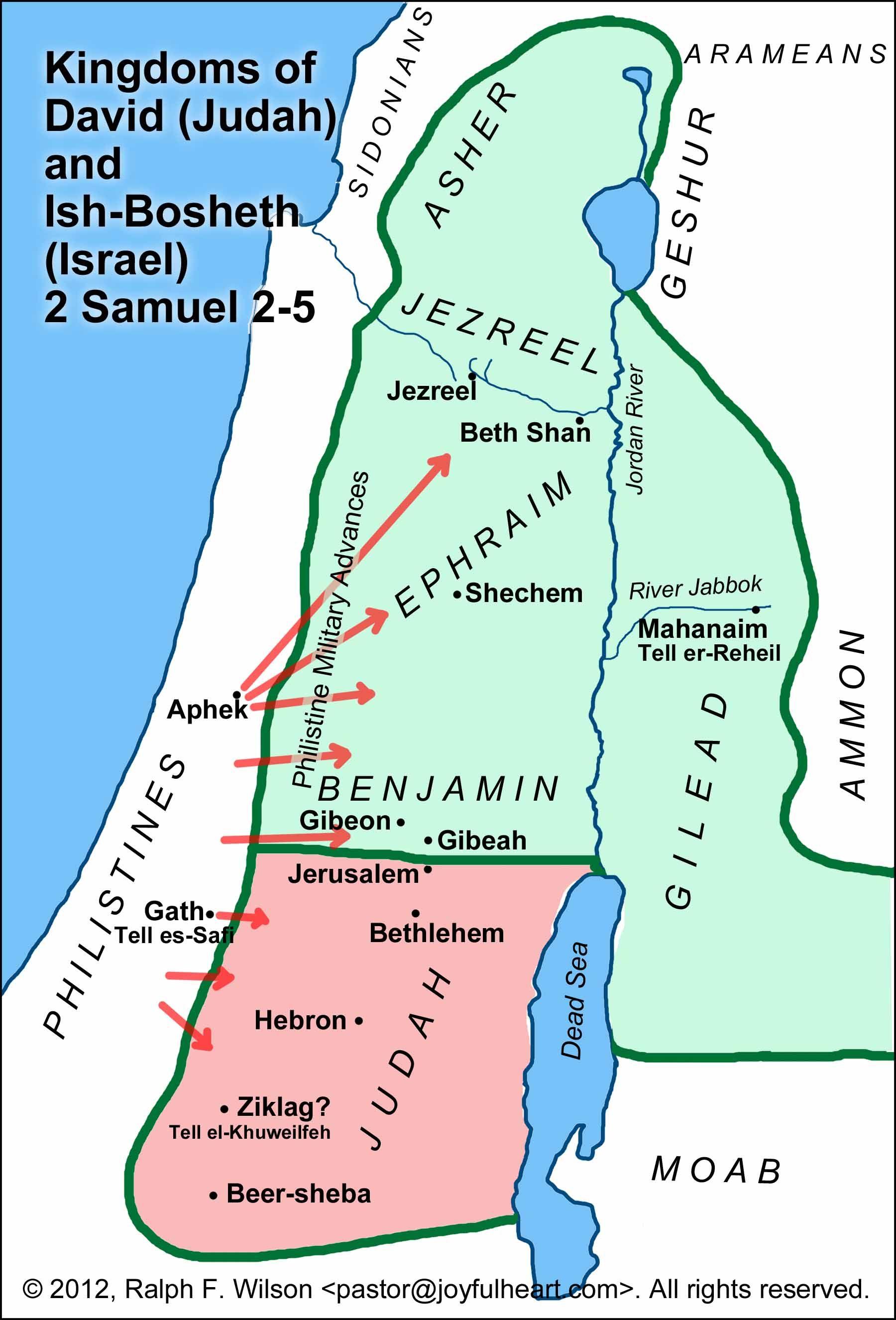 Image Result For Bible Maps Of I Samuel 13 14