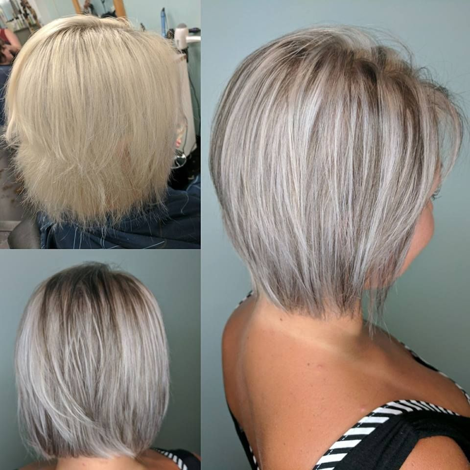 pictures of women with short haircuts sliver hair by ashlee hill at salon incogntio 4646 | ec6546f767b22e277ff9598bb5c4646a