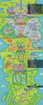 Pokémon World Valencia Mapa De La Región De Galar Y Detalles Spoiler Mapas Pokemon Regiones