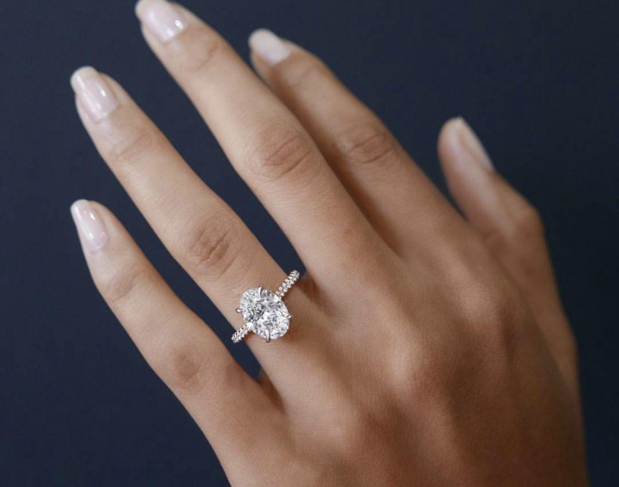 Shape Is Beautiful Trending Engagement Rings Wedding Rings Oval