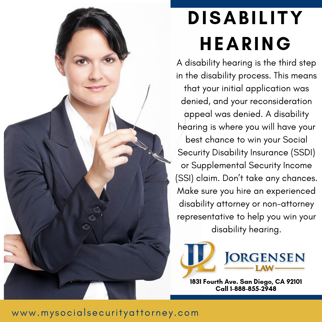 What to Bring to a Disability Hearing Disability