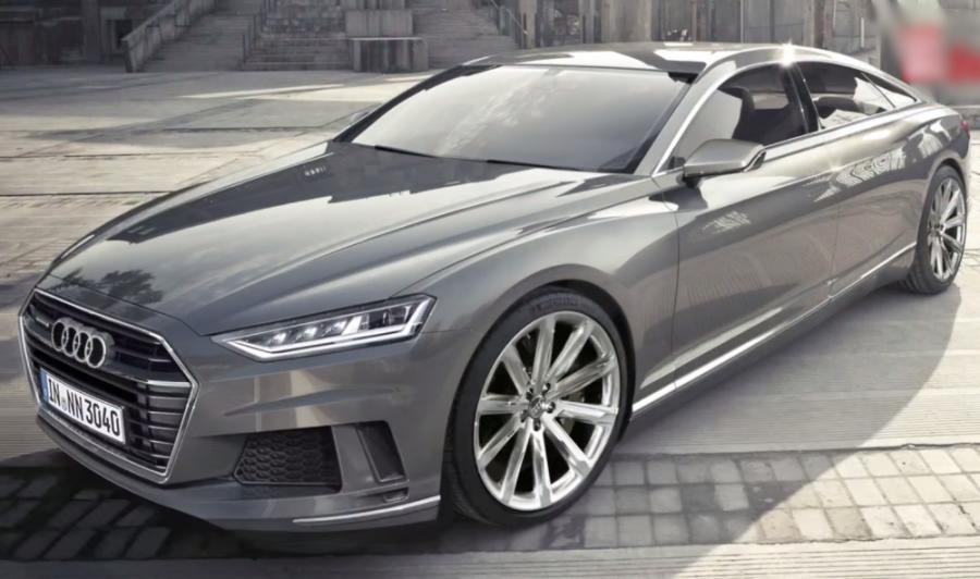 2016 AUDI A9 Luxury sedan, the Audi Prologue concept, annonceur des